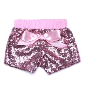 Other - 🎈🐰💗Easter Girls Pink Sequin Bow Shorts